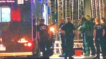 GRPD dispose of 'suspicious device' in water under Sixth Street Bridge