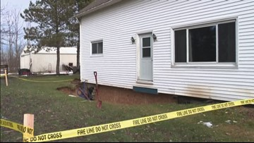 Coopersville family left without a home after basement collapses