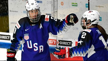 US rips Russia 8-0 to reach hockey final against host Finns
