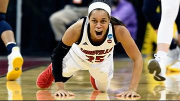 Louisville tops Michigan 71-50 to reach women's Sweet 16