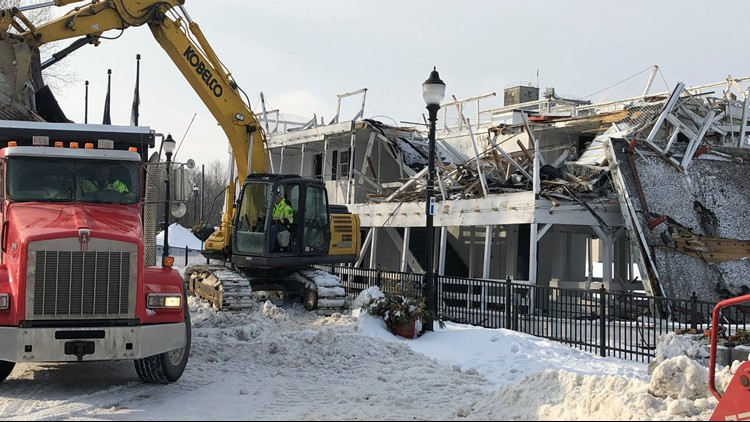 Iconic Lowell Showboat demolished, new one coming soon