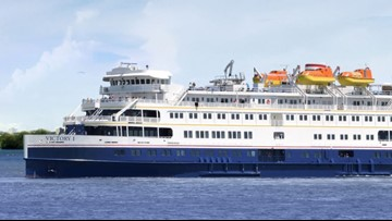 Cruise ship season is here: First of the ships arrive in Muskegon today