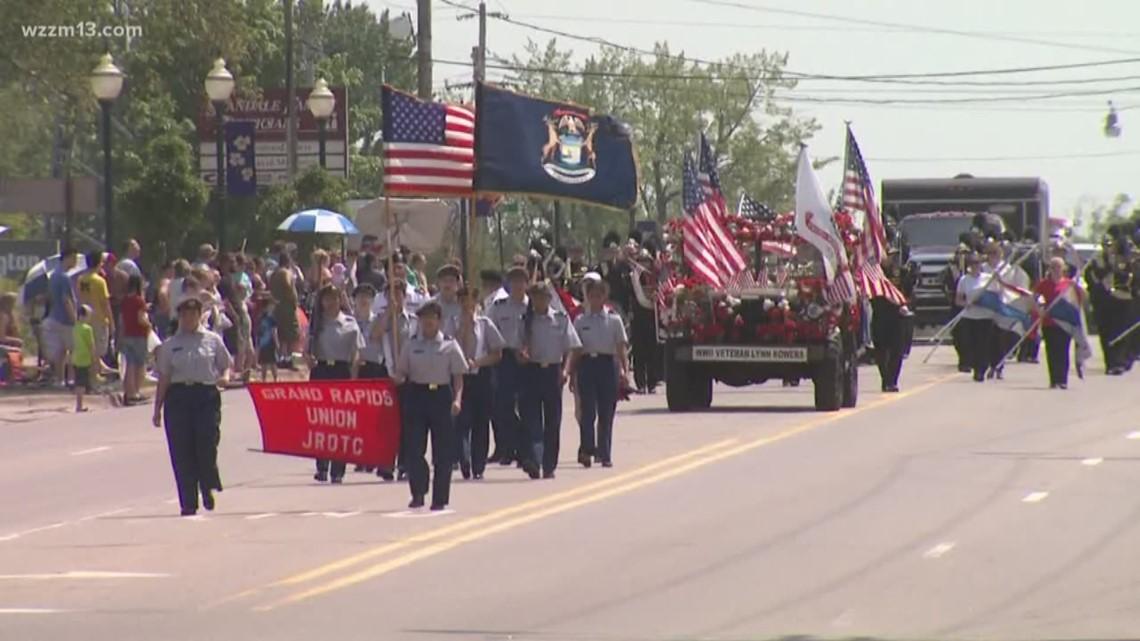Memorial Day 2019 Parades Events Across West Michigan Wzzm13 Com