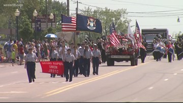Memorial Day 2019 parades, events across West Michigan