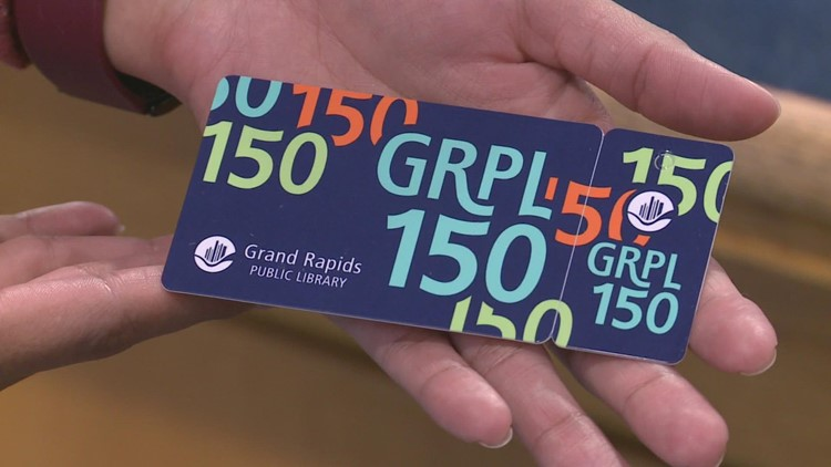 13 Reads: Grand Rapids Public Library sets goal of 1,500 cardholders for 150th anniversary