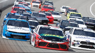Rain could be a factor at Michigan NASCAR race