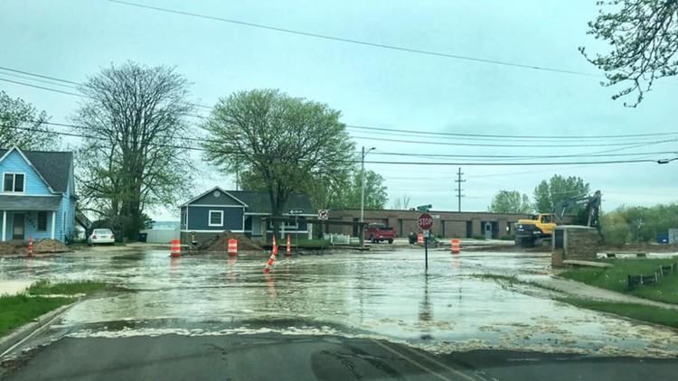 Lakeshore Drive Closed Due To Water Main Break