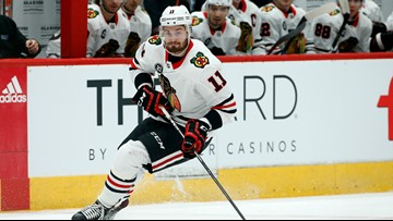 Red Wings acquire Perlini in trade with Blackhawks