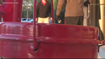 Salvation Army's Red Kettle Campaign on Giving Tuesday