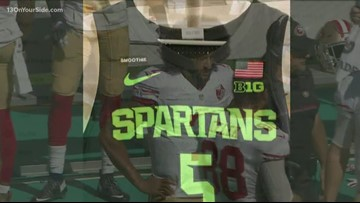 MSU basketball team honors Cassius Winston's brother