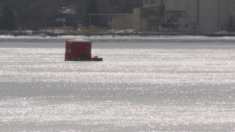 For portions of the lower peninsula, it's time to remove the ice shanty