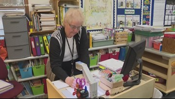 Orchard View teacher racks up 55 years of experience, says she's not ready to retire