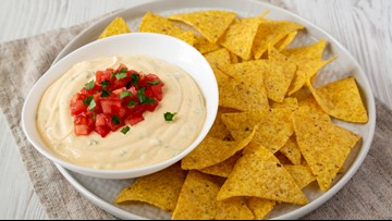 Simple and healthy Southwest Goat Cheese Dip