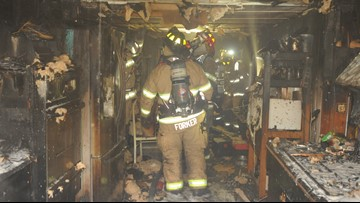 Kitchen destroyed in Van Buren County house fire