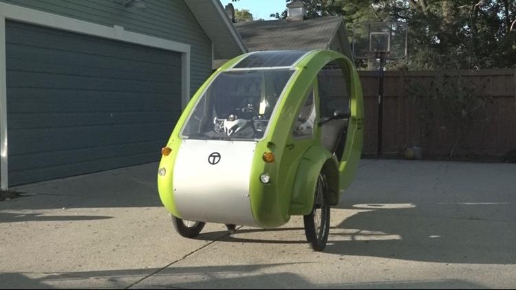 solar powered bike
