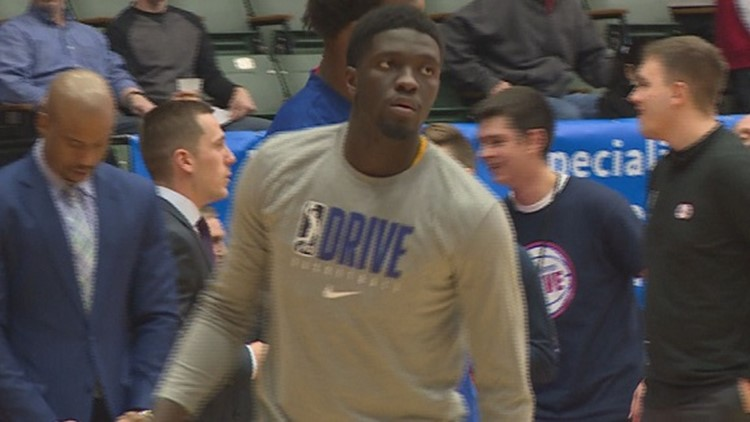 After stint with Grand Rapids Drive, Pistons recall Khyri Thomas