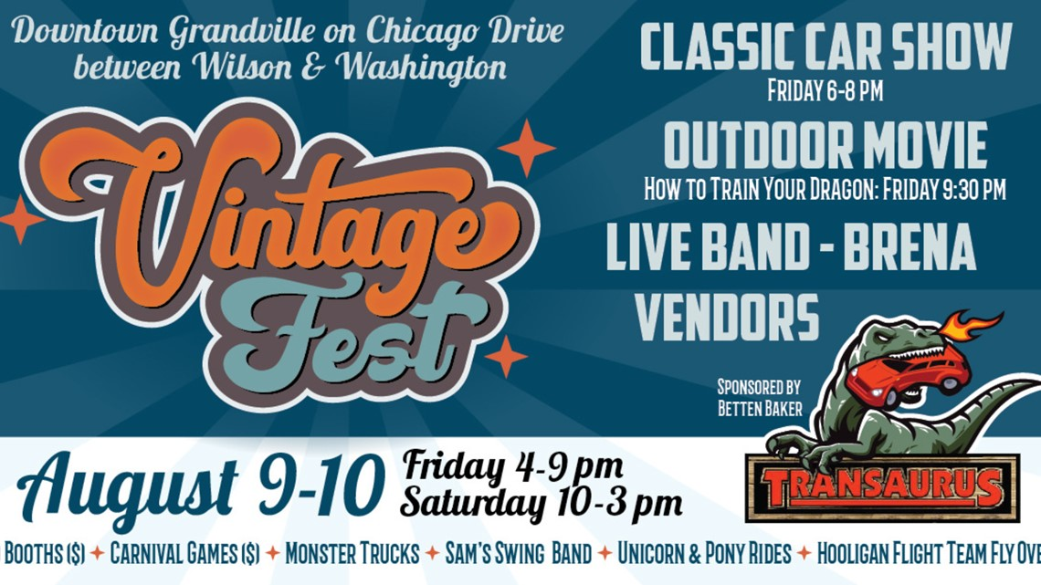 grandville vintage fest set for saturday wzzm13 com grandville vintage fest set for saturday