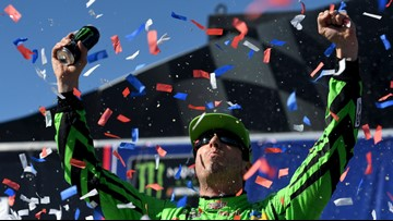 Kyle Busch ties Petty's record with 200th career NASCAR win