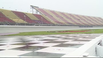 Firekeepers Casino 400 postponed because of rain