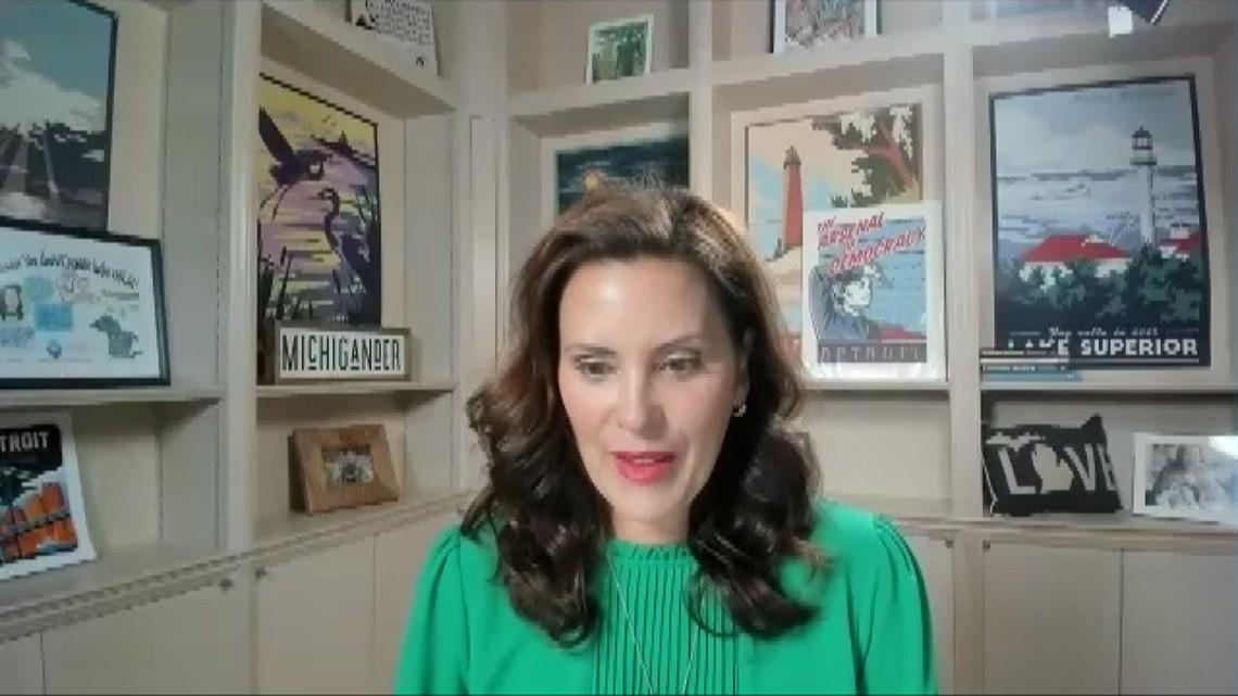 Full interview with Gov. Gretchen Whitmer
