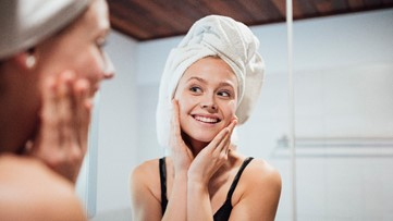 Make your own soothing facial scrub at home