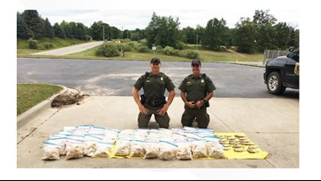 Officers bust man for poaching more than 1,400 fish from Michigan lake