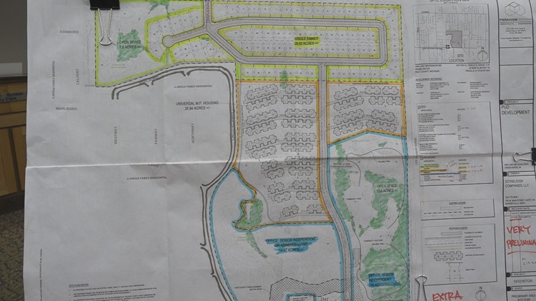 Plans for Lincoln Country Club