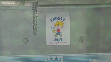 Power outage at Frosty Boy on Thursday
