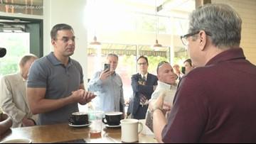 Rep. Justin Amash makes coffee run around Grand Rapids
