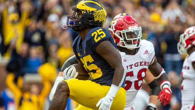 No. 19 Michigan holds off Rutgers for 20-13 victory