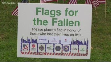 West Michigan commemorates the 18th anniversary of 9/11