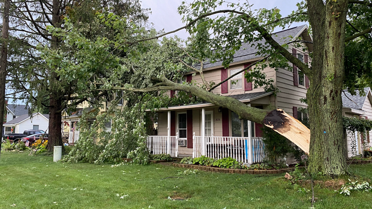 NWS reports compile damage across West Michigan following severe storms