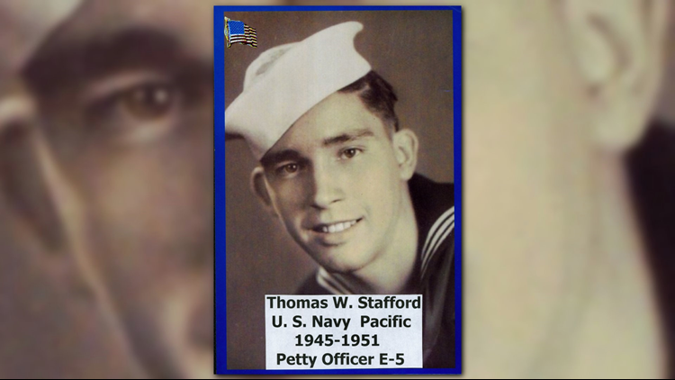 U.S. Navy Petty Officer Tom Stafford