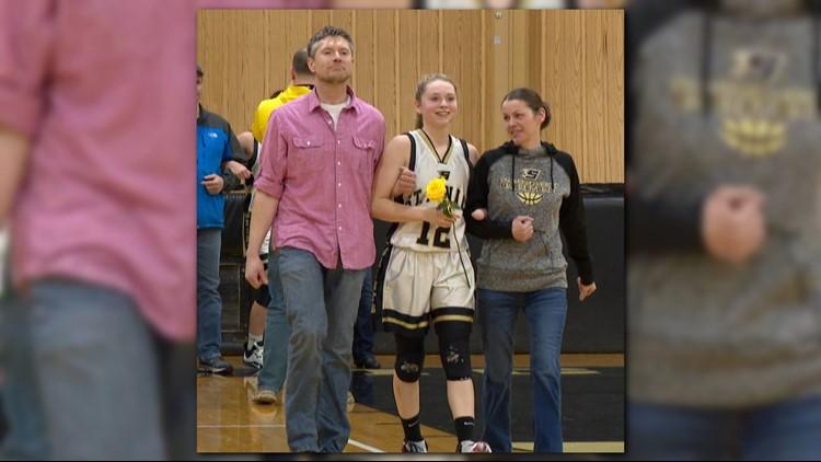 Robert Adams (left), Ella Adams (center) and Rachel Adams (right).