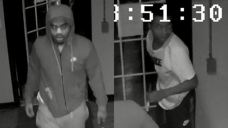 Reward offered for information on suspects who broke into laundry machine and stole cash