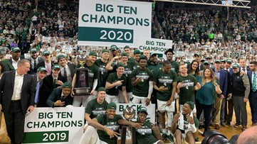 Michigan State tops Ohio State, shares Big Ten title