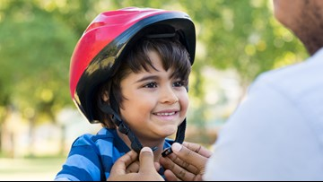 Bicycling means fun and freedom for children, but it also poses dangers
