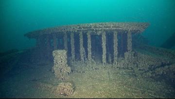 A shipwreck at the bottom of Lake Michigan found 'amazingly intact'