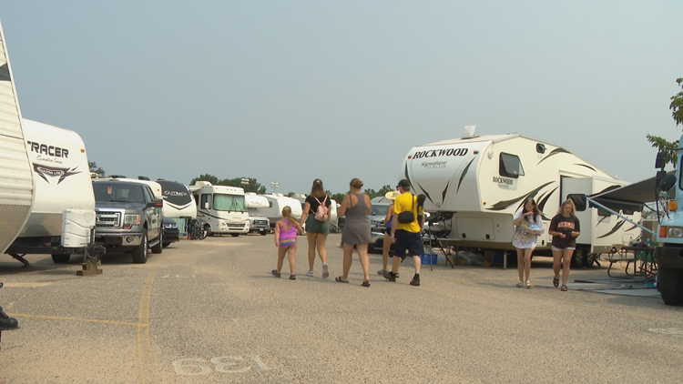 'Camping and carbon monoxide aren't friends,' says Grand Rapids Fire Marshal