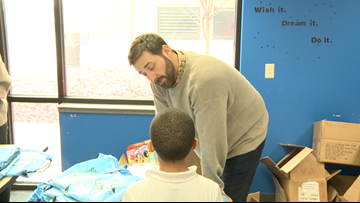 Nonprofits celebrate World Book Day by giving away books at local schools