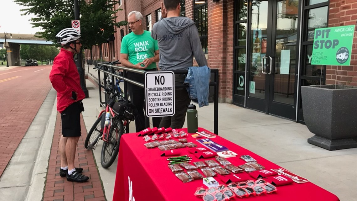 Grand Rapids Active Commute Week: There's snacks, swags and prizes to get people moving