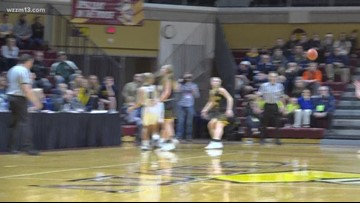 Hamilton girls basketball fall to Freeland in state semifinals