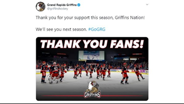 Grand Rapids Griffins playoffs run ends in 4-2 loss to the Wolves
