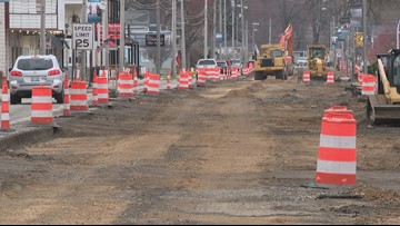 Lakeside business owners working to attract customers during major road project