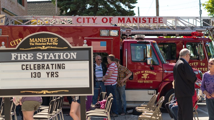 manistee fire station