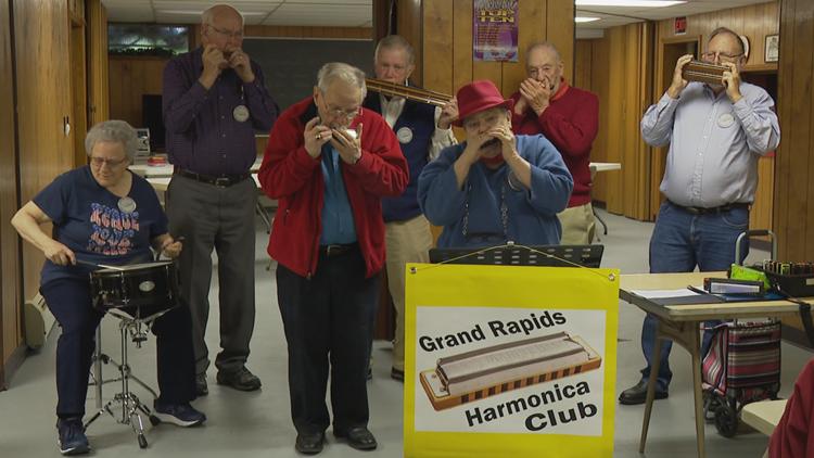 'Blowhards' needed: Grand Rapids Harmonica Club hopes to expand membership