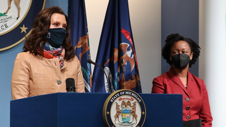 Whitmer outlines priorities for spending federal virus aid