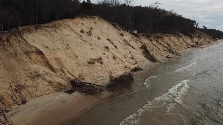 Michigan's record-high water levels collide with coronavirus
