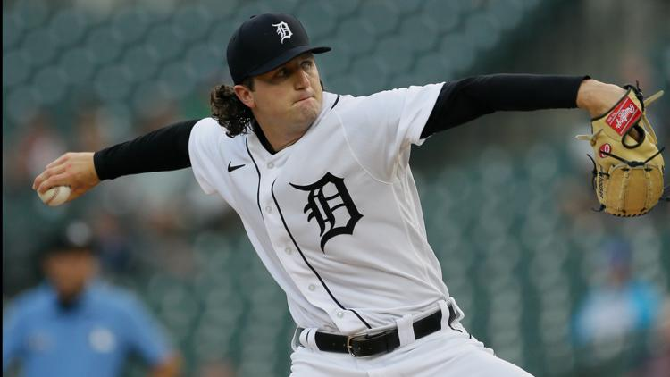 Cabrera drives in 5 in Detroit's 14-0 rout of Texas