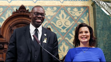 Gilchrist becomes first black LG to sign a bill into law
